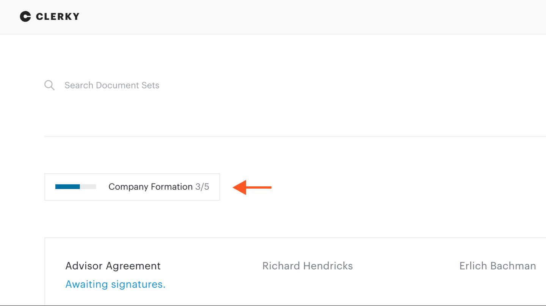 Company Formation checklist link